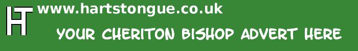 Cheriton Bishop: Your Advert Here