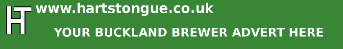 Buckland Brewer: Your Advert Here